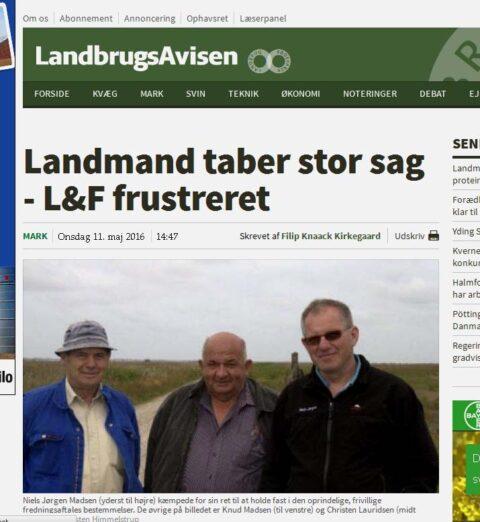 rejsning efter udløsning Ringkøbing-Skjern